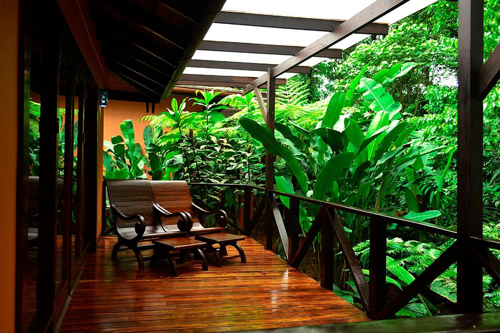 Hideaway balcony